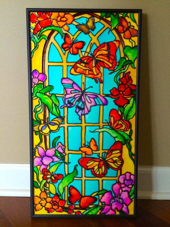 Hobby Line Glas Design New Art : Glass painting one of my favorite hobbies mdst