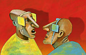 two blinders