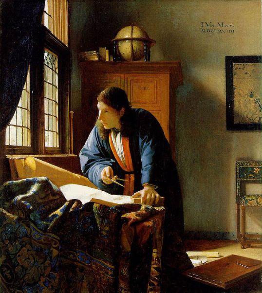 "Johannes Vermeer ""The Geographer"""