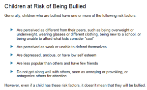 Kids at Risk