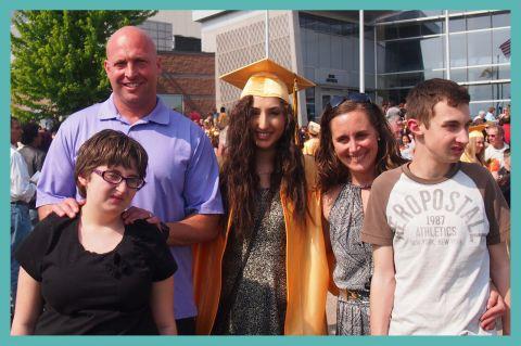 Yasmine graduates