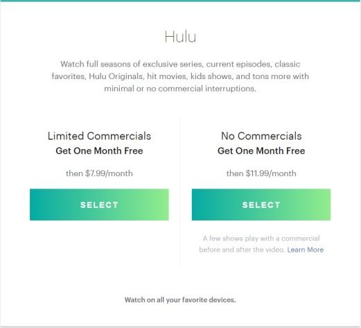 hulu-cheap-plans