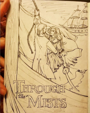 """Through the Mists"" throws my and my partner's old live-action role play characters into alternate universes, for new and exciting adventures."